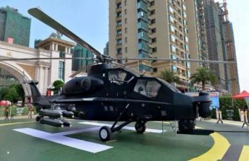 (武直十)武装直升机模型